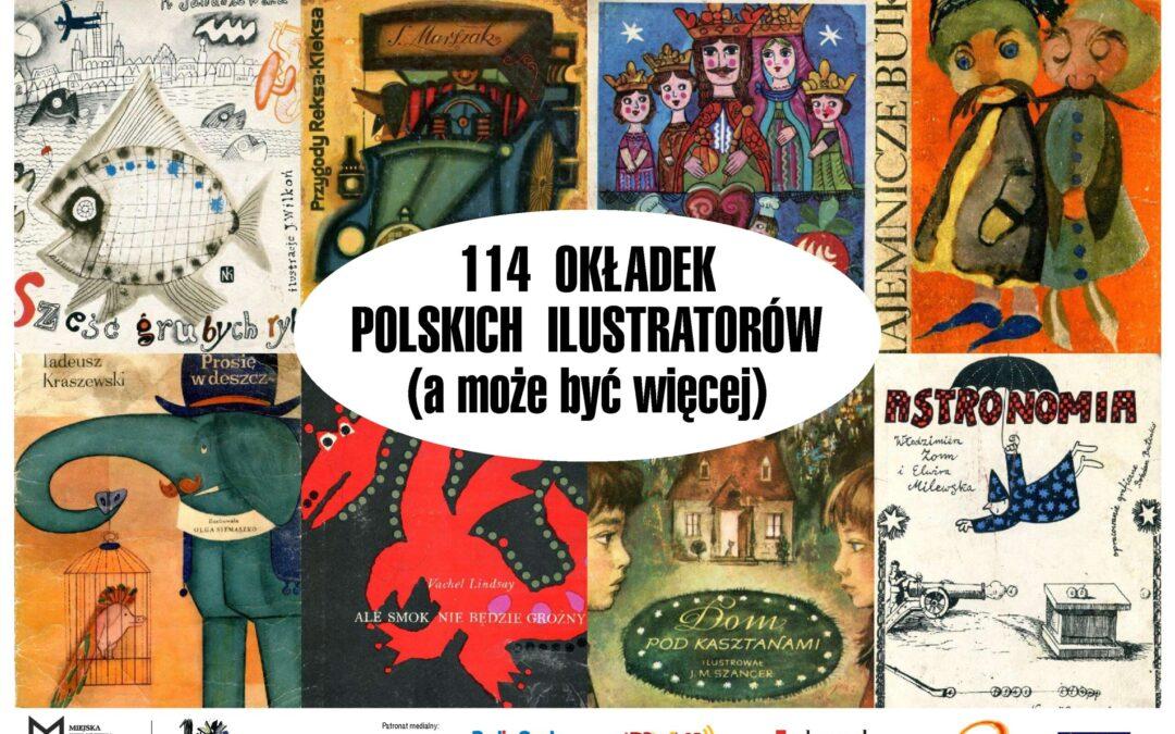 114 okładek polskich ilustratorów (a może i więcej)