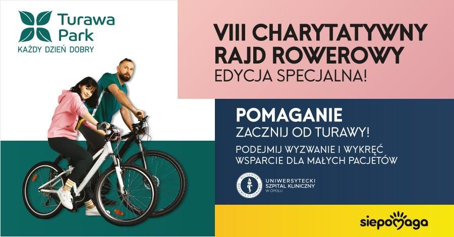 Rower pomaga – VIII edycja Rajdu Charytatywnego ruszyła!