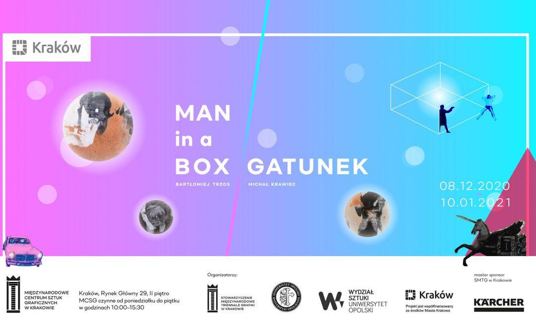 MAN in a BOX/Gatunek – spojrzenie na człowieka w nowej rzeczywistości