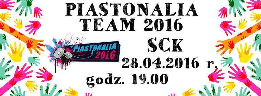 Piastonalia Team 2016