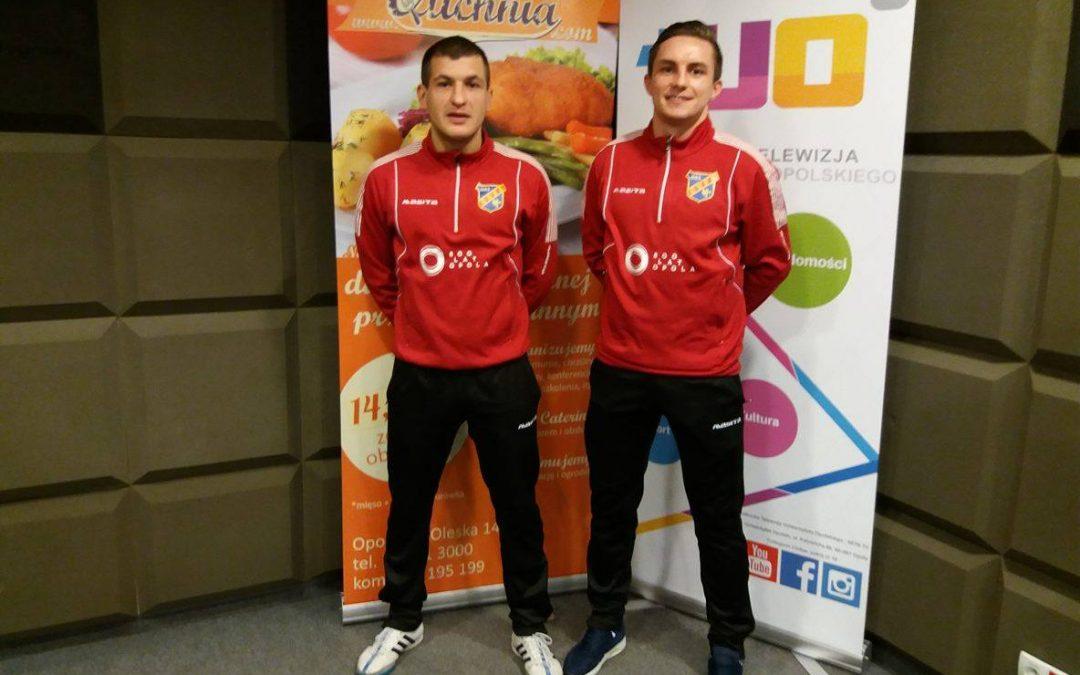 #Sportowe Śniadanie: Rozmowa z futsalistami Odry Opole