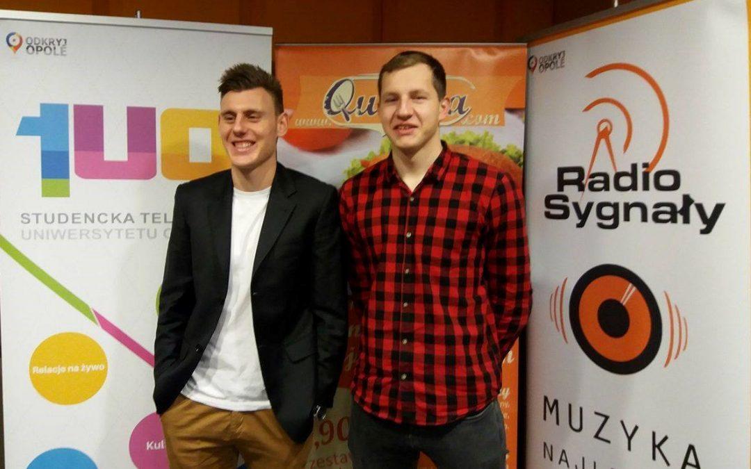 #Sportowe Śniadanie: Rozmowa z piłkarzami Odry Opole