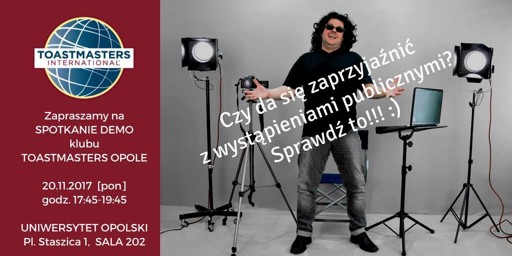 Poznaj Toastmasters Opole!
