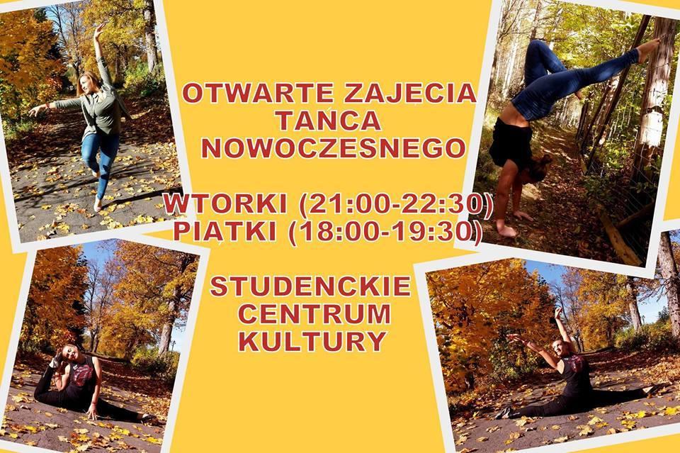 Taniec nowoczesny w SCKu!