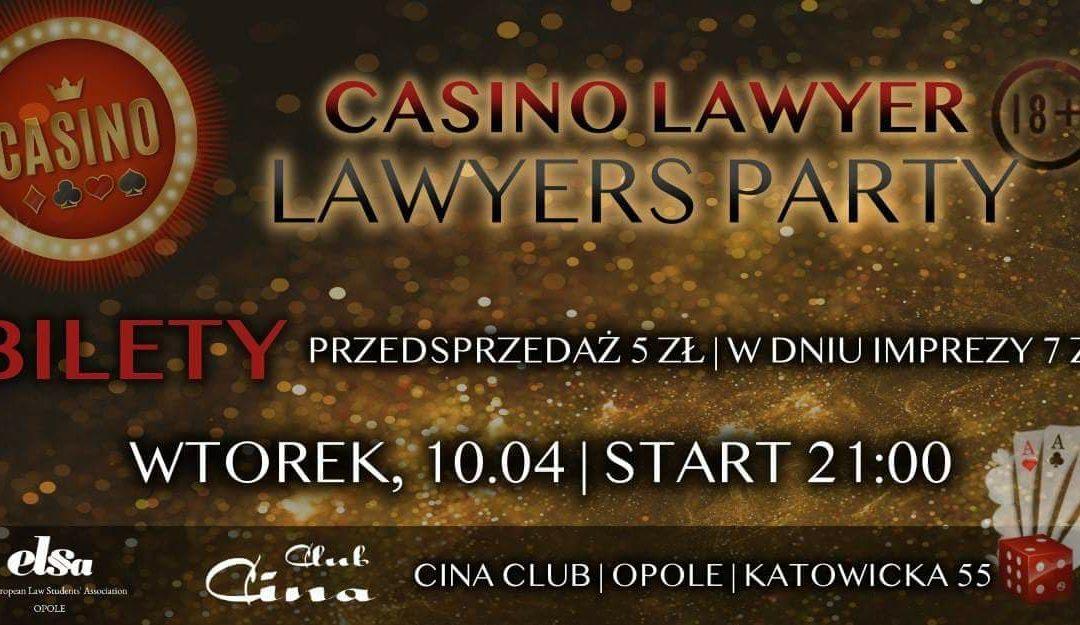 Casino Lawyers Party w klubie Cina!