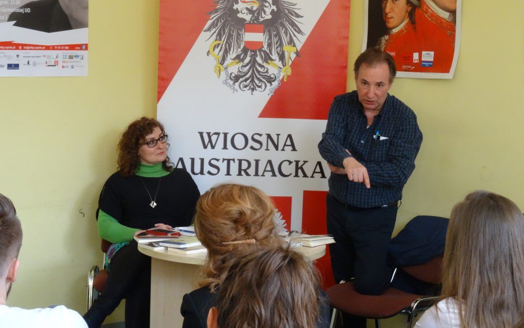 Wywiad z austriackim pisarzem Aloisem Hotschnigiem
