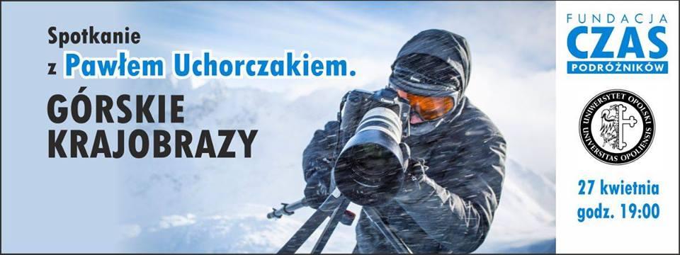 Spotkanie z fotografem Pawłem Uchorczakiem w SCK-u