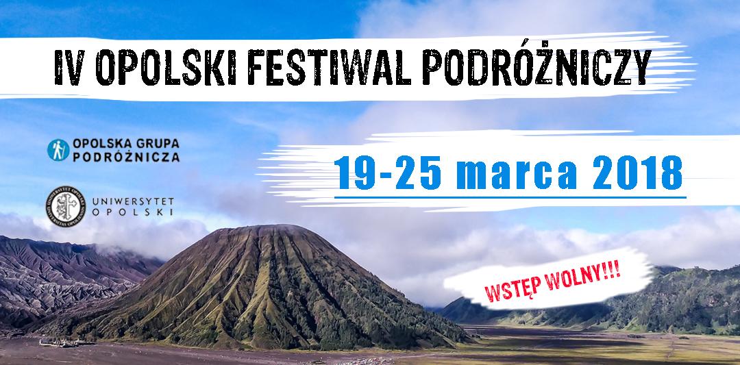 Rusza IV Opolski Festiwal Podróżniczy