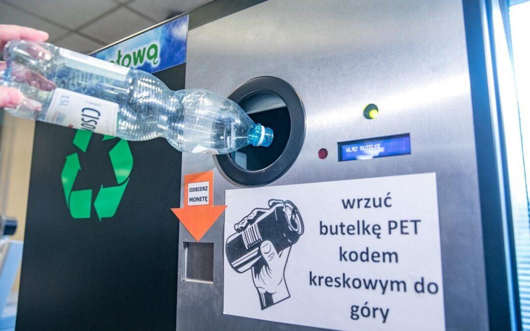 Wrzuć butelkę, bądź eko!