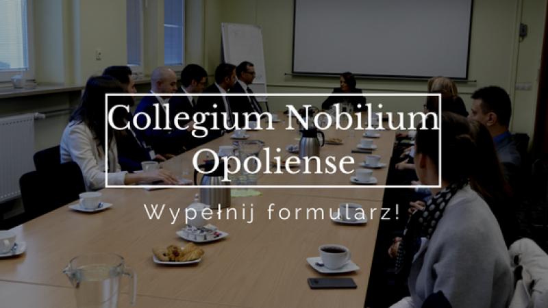 Rekrutacja do VII edycji Collegium Nobilium Opoliense