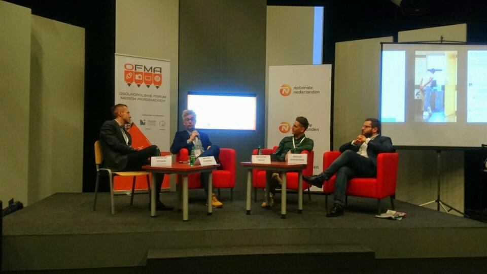 #OFMA: Dziennikarstwo w ekonomii i social media
