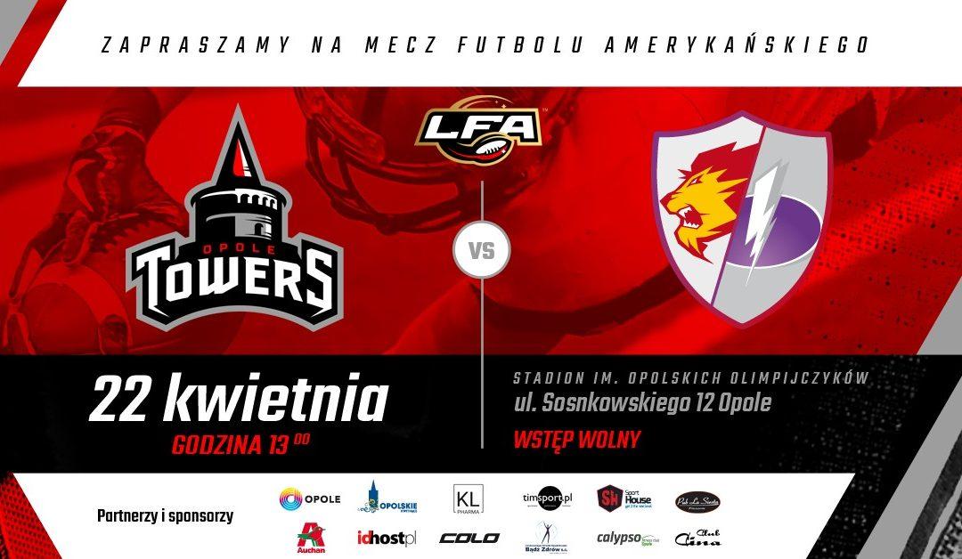 Historyczny mecz Towers Opole