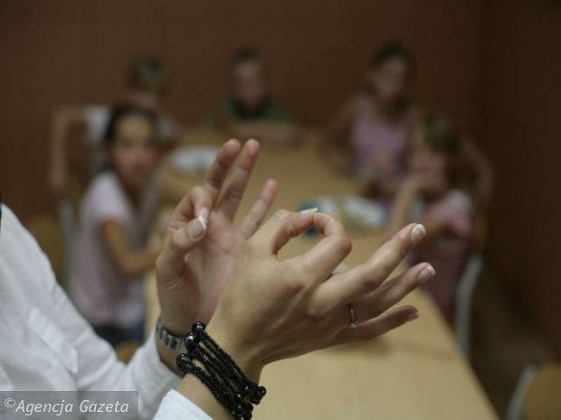 Relacja z warsztatów języka migowego