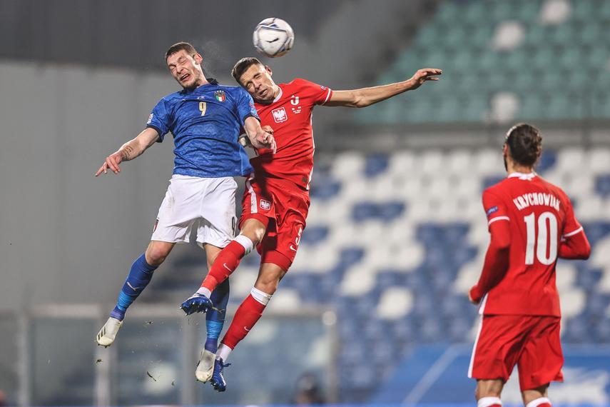 Fatalny mecz reprezentacji! Polska przegrywa na wyjeździe z Włochami